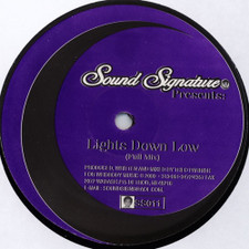 "Theo Parrish - Lights Down Low - 12"" Vinyl"