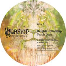 "Heights & Worship - Teach Dem (Extended Mix) - 12"" Vinyl"