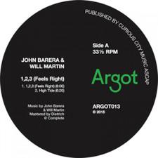 """John Barera & Will Martin - 1,2,3 (Feels Right) - 12"""" Vinyl"""