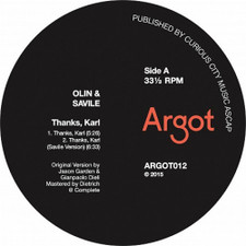 "Olin & Savile - Thanks, Karl - 12"" Vinyl"