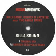 "Billy ""Daniel"" Bunter & Hattrixx meet The Ragga Twins - Killa Sound - 12"" Vinyl"