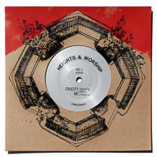 "Heights & Worship - Crucify Me - 7"" Vinyl"