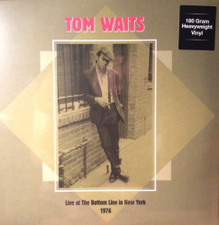 Tom Waits - Live At The Bottom Live New York 12/18/1976 - 2x LP Vinyl