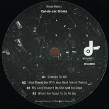 "Ames Henry - Cul De Sac Drama - 12"" Vinyl"
