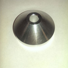 "Aluminum Spindle Adapter - Silver - 7"" Adapter"