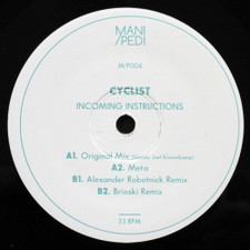 "Cyclist - Incoming Instructions - 12"" Vinyl"