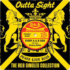 Various Artists - Outta Sight R&B Singles Vol. 2 - LP Vinyl