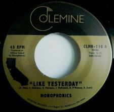 """Monophonics / Destruments - Like Yesterday / Freedom - 7"""" Vinyl"""