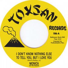 """Monica - Freedom / I Don't Know Nothing - 7"""" Vinyl"""