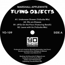 "Marshall Applewhite - Flying Objects - 12"" Vinyl"