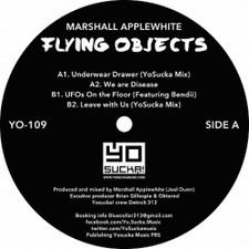 """Marshall Applewhite - Flying Objects - 12"""" Vinyl"""