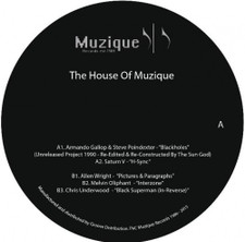 "Various Artists - The House Of Muzique - 12"" Vinyl"