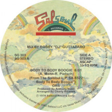 "ORS - Body To Body Boogie - 12"" Vinyl"
