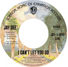 "Jay Dee - I Can't Let You Go - 7"" Vinyl"