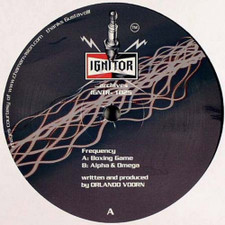 """Frequency - Boxing Game / Alpha & Omega - 12"""" Vinyl"""