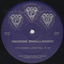 "George Smallwood - You Know I Love You - 12"" Vinyl"