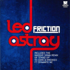 "Friction - Led Astray - 12"" Vinyl"