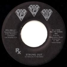 """Rx (Delroy Edwards & Benedek) - Strung Out - 7"""" Vinyl"""