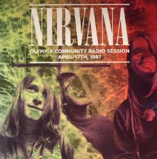 Nirvana - Olympia Community Radio Sessions April 17th 1987 - LP Vinyl