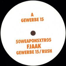 "Fjaak - Gewerbe 15 / Rush - 12"" Vinyl"