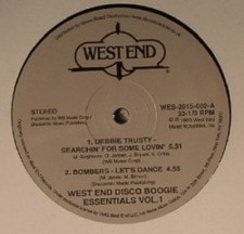 "Various Artists - West End Disco Boogie Essentials Vol. 1 - 12"" Vinyl"