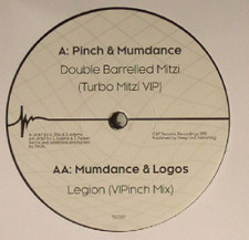 "Pinch / Mumdance / Logos - Double Barrelled Mitzi (Turbo Mitzi VIP / Legion (VIPinch Mix) - 12"" Vinyl"