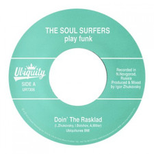 "The Soul Surfers - Doin' The Rasklad - 7"" Vinyl"