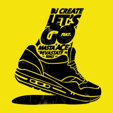 "Dj Create & Masta Ace - Let's Go - 7"" Colored Vinyl"
