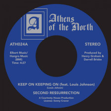 """Second Re$surrection - Keep On Keeping On - 7"""" Vinyl"""