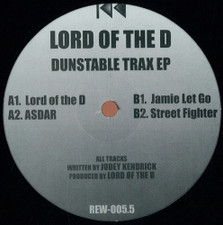 """Lord of the D - Dunstable Trax - 12"""" Vinyl"""