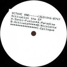 "Octave One - The Octivation - 12"" Vinyl"
