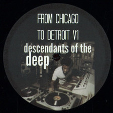 """Various Artists - From Chicago To Detroit V1 - 12"""" Vinyl"""