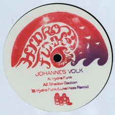 "Johannes Volk - Hydrofunk - 12"" Vinyl"