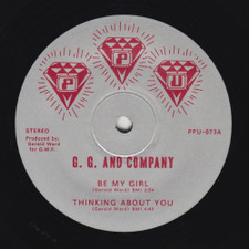 """G.G. & Company - Be My Girl / Thinking About You - 12"""" Vinyl"""