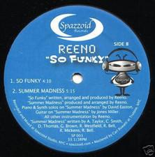 "Reeno - So Funky - 12"" Vinyl"