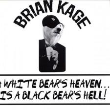 "Brian Kage - A White Bears Heaven - 12"" Vinyl"