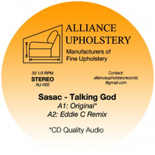 "Sasac - Talking God - 12"" Vinyl"