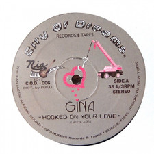 "Gina - Hooked On Your Love - 12"" Vinyl"