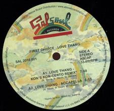 "First Choice - Love Thang (Kon Remix) - 12"" Vinyl"