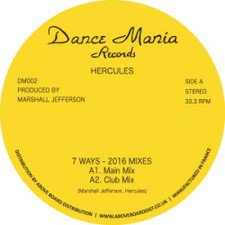 "Hercules - 7 Ways (2016 Mixes) - 12"" Vinyl"