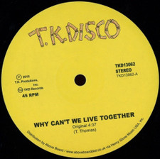 """Timmy Thomas - Why Can't We Live Together (Late Nite Tuff Guy rework) - 12"""" Vinyl"""