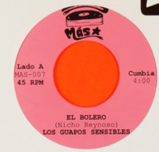 """Los Guapos Sensibles - El Bolero - 7"""" Vinyl"""
