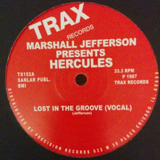 """Marshall Jefferson Presents Hercules - Lost In The Groove - 12"""" Vinyl"""