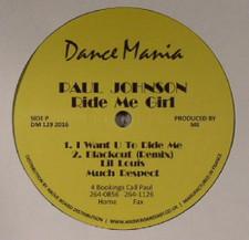 """Paul Johnson - Ride Me Girl - 12"""" Vinyl"""
