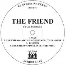 "L/F/D/M / The Friend - Balearic Fisting / Fuck Sunsets - 12"" Vinyl"