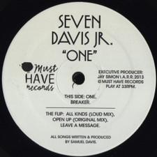 "Seven Davis Jr. - One - 12"" Vinyl"