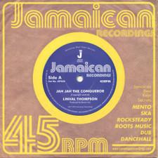 """Linval Thompson - Jah Jah The Conqueror - 7"""" Vinyl"""