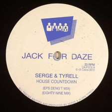 "Serge & Tyrell - House Countdown - 12"" Vinyl"