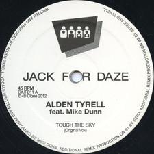 """Alden Tyrell ft Mike Dunn - Touch the Sky - 12"""" Vinyl"""