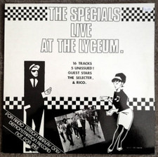 The Specials - Live At The Lyceum - LP Vinyl